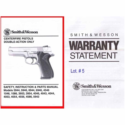 MANUALE SMITH & WESSON